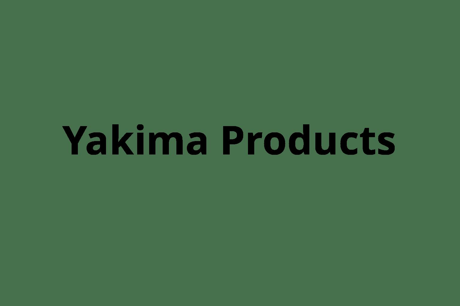Yakima Products