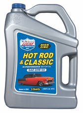 Lucas Oil 10684 Hot Rod & Classic Car HP Motor Oil SAE 20W-50