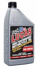 Lucas Oil 10700 SAE 20W-50  Motorcycle Oil