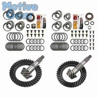 Motive Gear MGK-105 Jeep Wrangler JK 4.56 Ratio Differential Ring and Pinon Front and Rear Complete Kit