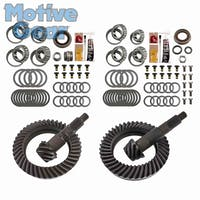 Motive Gear MGK-108 Jeep Wrangler JK 5.38 Ratio Differential Ring and Pinon Front and Rear Complete Kit