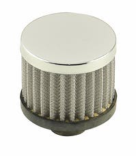 Mr. Gasket 2049G BREATHER HP PUSH IN WHITE