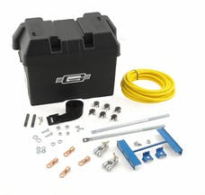 Mr. Gasket 6279 TRUNK MOUNTED BATT BOX KIT