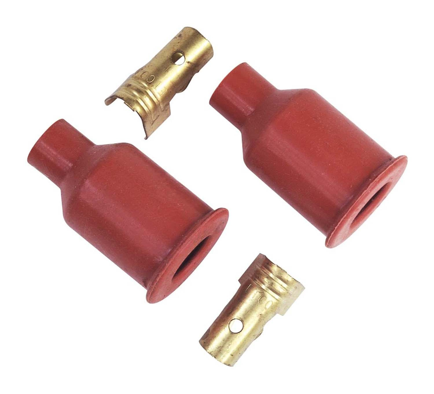 MSD Ignition Set of 2 MSD 3325 Spark Plug Wire Boot and Terminal,