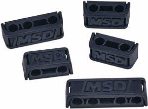 MSD 8841 Dual Plug Wire Separators Set of 16