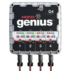 NOCO Company G4 4.4A 4-Bank Smart Battery Charger