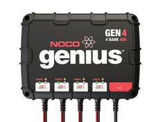 NOCO Company GEN4 40A 4-Bank Onboard Battery Charger