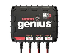 NOCO Company GENM3 12A 3-Bank Onboard Battery Charger