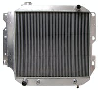Northern Radiator 205087 Jeep Wrangler YJ/TJ Muscle Car Radiator - 21 x 21 x 3 1/8