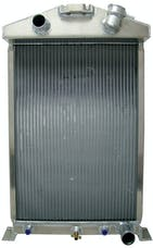 Northern Radiator 205175 Ford / Mopar 27 1/2 x 17  3/4 Downflow Hotrod Radiator Ford / Mopar 27 1/2 X 17  3/4 Downflow Hotrod Radiator