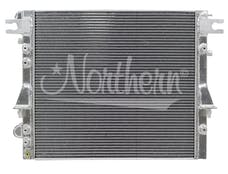 Northern Radiator 205220 Jeep Wrangler JK/JKU Muscle Car Radiator - 25 1/4 x 21 1/8 x 2