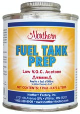 Northern Radiator RW0125-55 Fuel Tank Prep Low Voc Acetone