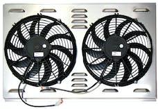 Northern Radiator Z40004 Dual 12 Inch Fan/Shroud Combo Dual 12 Inch Fan/Shroud Combo