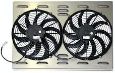 Northern Radiator Z40006 Dual 12 Inch Fan/Shroud Combo Dual 12 Inch Fan/Shroud Combo