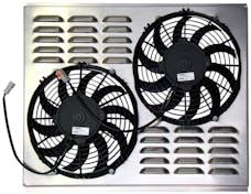 Northern Radiator Z40007 Dual 10 Inch Fan/Shroud Combo Dual 10 Inch Fan/Shroud Combo