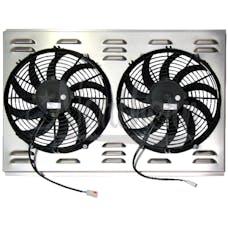 Northern Radiator Z40010 Dual 12 Inch Fan/Shroud Combo Dual 12 Inch Fan/Shroud Combo