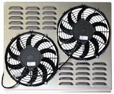 Northern Radiator Z40013 Dual 10 Inch Fan/Shroud Combo Dual 10 Inch Fan/Shroud Combo