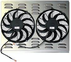 Northern Radiator Z40014 Dual 11 Inch Fan/Shroud Combo Dual 11 Inch Fan/Shroud Combo