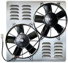 Northern Radiator Z40094 Dual 10 Inch Hurricane Electric Fan
