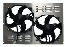 Northern Radiator Z40109 Dual 11 Inch Fan/Shroud Combo
