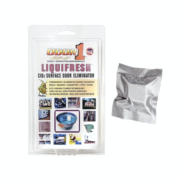 Odor 1 416100 CLO2 Liquid (Makes 3-5 gallons and will not bleach out)
