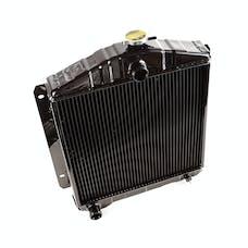 Omix-Ada 17101.04 Jeep CJs/Willys Radiator, 2 Row