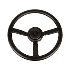 Omix-Ada 18031.11 Steering Wheel, Sport, Leather, Black