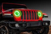 Oracle Lighting 1214-004 LED Waterproof Halo Kit, Green