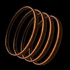 Oracle Lighting 4215-005 ORACLE LED Illuminated Wheel Rings - Amber