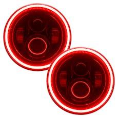 "Oracle Lighting 5769-003 ORACLE 7"" High Powered LED Headlights - Black Bezel"