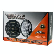 """Oracle Lighting 5774-504 ORACLE Off-Road 75W 7"""" CREE LED Replacement Headlights"""