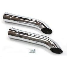 Patriot Exhaust H3816 Pipe Chrome Tip Set