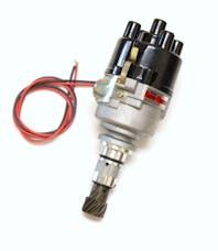 Pertronix D190500 Elec Dist Cast Ford X-Flow 4 cyl w/Ignitor II Non Vac Top Exit Cap