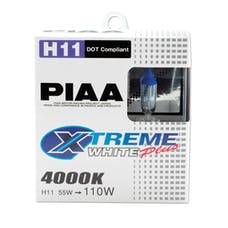PIAA 15211 H11 Xtreme White Plus Twin Pack Halogen Bulbs