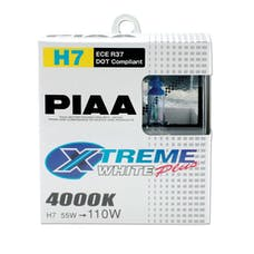 PIAA 17655 H7 Xtreme White Plus Twin Pack Halogen Bulbs