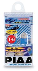 PIAA 19223 Xtreme White Plus Series Dome Light Halogen Bulb (T-6, Twin Pack)