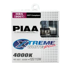 PIAA 19617 9007 (HB5) Xtreme White Plus Twin Pack Halogen Bulbs