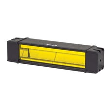 "PIAA 22-07210 RF Series 10"" LED Light Bar Ion Yellow Fog Beam Kit, SAE Compliant"