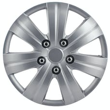 Pilot Automotive WH523-14S-BX Matte Silver 7 Spoke 14' Wheel Cover