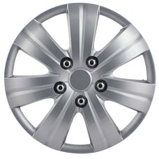 Pilot Automotive WH523-16S-B Matte Silver 7 Spoke 16 In. WC