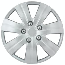 Pilot Automotive WH523-16S-BX Matte Silver 7 Spoke 16' Wheel Cover