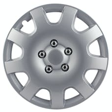 Pilot Automotive WH524-15S-BX Gear Silver 9 Spoke 15 in. WC