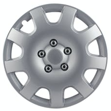 Pilot Automotive WH524-16S-BX Gear Silver 9 Spoke 16 in. WC