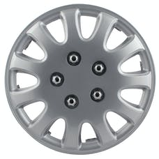 "Pilot Automotive WH525-15S-BX 5 LUG SILVER 15"" WHEEL COVER"
