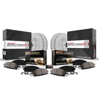 Power Stop LLC CRK7598 Z17 Evolution Geomet® Coated Brake Kit