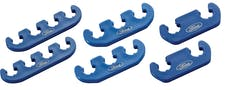 PROFORM 302-637 Spark Plug Wire Dividers; Universal 2-3-4 Wire; w/ Ford Oval Logo; Blue