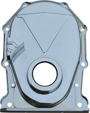 Proform 66193 Engine Timing Chain Cover; Chrome; Steel; Factory Replacement For BB Chrysler