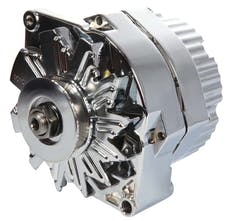 Proform 66445.1N Alternator; 100 AMP; GM 1 Wire Style; Machined Pulley; Chrome Finish; 100% New