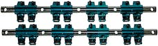Proform 66869 Roller Rocker Arm Set; 1.5 Ratio; Shaft Mount Style; Fits SB Chrysler Engines