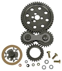 Proform 66918C Engine Timing Gear Drive; Hi-Performance Under Cover Model; Fits BB Chevy Engine